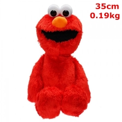 Sesame Street Cartoon Stuffed Doll Kawaii Anime Plush Toys For Kids