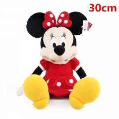 Disney Minnie Mouse Cartoon For Gifts Collection Doll Anime Plush Toy