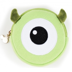 Monsters, Inc. Cartoon Pattern Card Bag Purse Portable Plush Coin Wallet