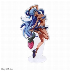 Kono Subarashii Sekai ni Shukufuku wo! Aqua Cartoon Model Acrylic Figure Collection Anime Standing Plates 15.5cm