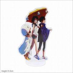 Tenki no Ko Cartoon Model Acrylic Figure Collection Anime Standing Plates 15.5cm
