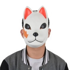 Demon Slayer: Kimetsu no Yaiba Sabito Cartoon Character Latex Material Anime Mask