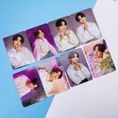 K-POP BTS Bulletproof Boy Scouts JK Art Paper Postcard (8pcs/set)