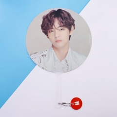 K-POP BTS Bulletproof Boy Scouts V Bangtan Boys Paper Fan