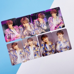 K-POP BTS Bulletproof Boy Scouts SUGA Art Paper Postcard (8pcs/set)