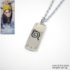 Naruto Cartoon Decoration Fashion Jewelry Cosplay Anime Necklace