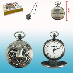 Fullmetal Alchemist Cartoon Cosplay Wholesale Anime Pocket Watch