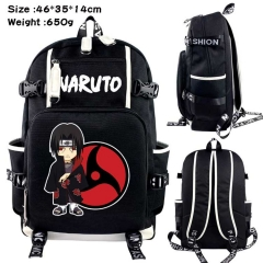 Naruto Anime Cosplay Cartoon Canvas Colorful Backpack Bag