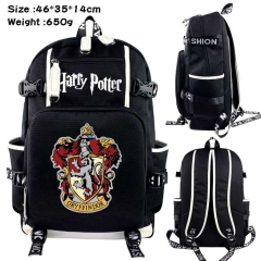Harry Potter Anime Cosplay Cartoon Canvas Colorful Backpack Bag