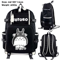 My Neighbor Totoro Anime Cosplay Cartoon Canvas Colorful Backpack Bag