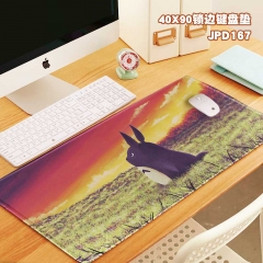 40X90X0.3 My Neighbor Totoro Design Color Printing Anime Mouse Pad