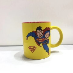 490ML/300ML Marvel's The Avengers Superman Movie Cosplay 3D Character Printing Cup Anime Ceramic Mug