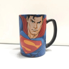 380ML Superman Movie Cosplay 3D Character Printing Cup Anime Ceramic Mug