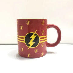 490ML/300ML The Flash Movie Cosplay 3D Character Printing Cup Anime Ceramic Mug