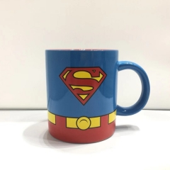 490ML/300ML Superman Movie Cosplay 3D Character Printing Cup Anime Ceramic Mug