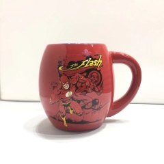 540ML The Flash  Movie Cosplay 3D Character Printing Cup Anime Ceramic Mug