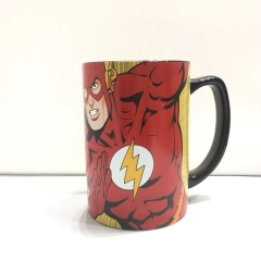 380ML Justice League Superman Movie Cosplay 3D Character Printing Cup Anime Ceramic Mug