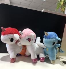 Unique Style Soft Doll Anime Unicorn Stuffed Plush Toys 23CM(set)