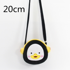 Cute Cartoon Doll Anime Plush Crossbody Bag