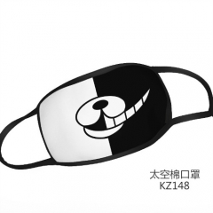 Dangan Ronpa Black And White  Design Anime Mask Space Cotton Material Anime Mask