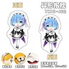 Re: Zero Kara Hajimeru Isekai Seikatsu Cosplay Cartoon Deformable Anime Plush Pillow 40*50cm