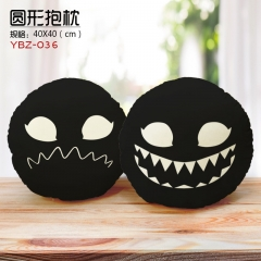 Venom Anime Pattern Cartoon Cute Plush Round Pillow