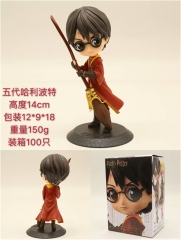2 Styles Harry Potter Character Cartoon Model Toy Anime PVC Figure 14cm