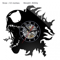 Venom Movie Character PVC Anime Wall Clock Wall Decorative Picture