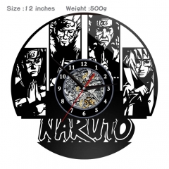 Naruto PVC Anime Wall Clock Wall Decorative Picture