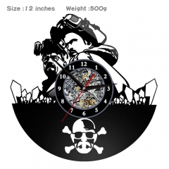 Breaking Bad PVC Anime Wall Clock Wall Decorative Picture