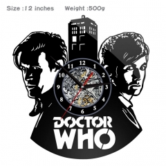 Doctor Who PVC Anime Wall Clock Wall Decorative Picture