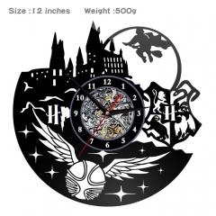 4 Styles Harry Potter PVC Anime Wall Clock Wall Decorative Picture