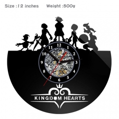 Kingdom Hearts PVC Anime Wall Clock Wall Decorative Picture