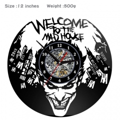 2 Styles Suicide Squad PVC Anime Wall Clock Wall Decorative Picture