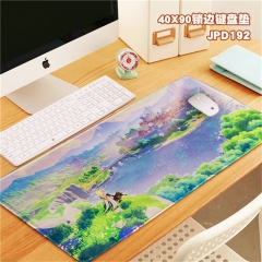 2 Styles Genshin Impact Anime Mouse Pad Table Mat