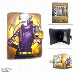 One Piece Trafalgar Law Cosplay Color Printing Coin Purse Anime Wallet