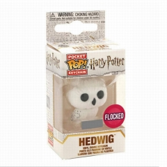 Funko POP Figure Keychain Harry Potter Hedwig Q versions Anime PVC Figures