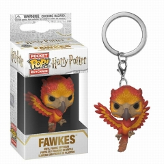 Funko POP Figure Keychain Harry Potter Fawkes Q versions Anime PVC Figures