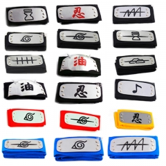 36 Styles Naruto Manga Anime Headband Cosplay Headwear Accessories