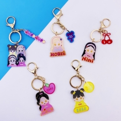 5 Styles K-POP Blackpink Cute Versions  Anime Concert Keychain