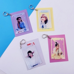 4 Styles K-POP Blackpink Cute Versions  Anime Concert Keychain