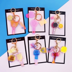 10 Styles K-POP Blackpink/EXO/TWICE/BTS Cute Versions Anime Concert Keychain