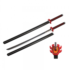 Demon Slayer: Kimetsu no Yaiba PU Material Plastic Sheath Anime Foam Sword Weapon (104CM)