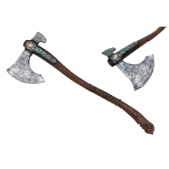 God of War Axe Shape PU Material Anime Foam Sword Weapon (91CM)