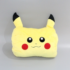 Pokemon Pikachu Cartoon Character Warm Hands Anime Plush Pillow Toy