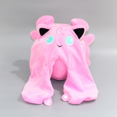 Pokemon Jigglypuff Cartoon Character U-shape Anime Plush Pillow Toy