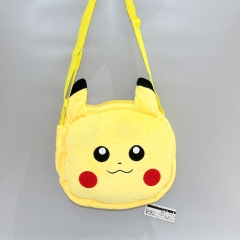 Pokemon Pikachu Cartoon Character For Kids Anime Plush Crossbody Bag