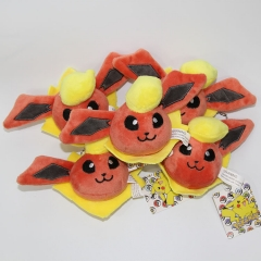 5CM Pokemon Charmander Cartoon Character Decorative Anime Plush Toy Pendant (10pcs/set)