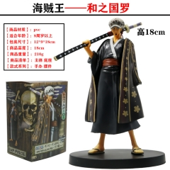 DXF One Piece  Trafalgar Law Cartoon Character Model Toy Anime PVC Figures 18cm