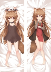 The Rising of the Shield Hero Tate no Yuusha no Nariagari  Cartoon Body Bolster Soft Long Print Sexy Girl Pattern Pillow 50*150cm